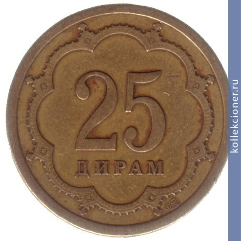25 dirams tj 2001