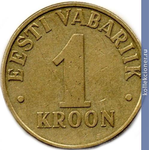 1 kroon eesti vabariik 2000 цена наборы монет мира купить