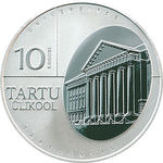Thumb 10 kron 2002 goda tartuskiy universitet
