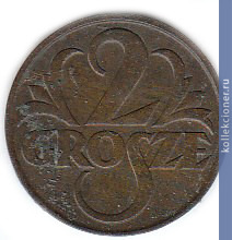 2 грош 1930 французский тихоокеанский франк
