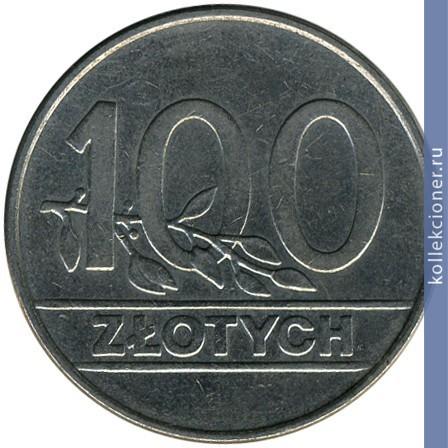 Сколько стоит 100 zlotych 1990 цена монета арабские эмираты с вышками